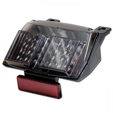 LED Rücklicht Ducati 748 / 916 / 996 / 998 R/S Cagiva Mito 50 / 125 getönt E-geprüft