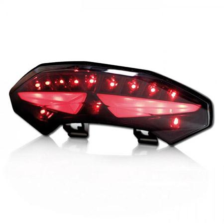LED Rücklicht Ducati Multistrada 1200 BJ 2010-14 getönt E-geprüft