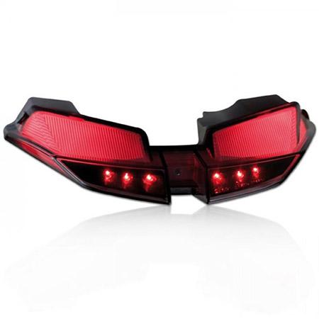 LED Rücklicht Ducati Hypermotard / Hyperstrada BJ 2013-14 getönt E-geprüft