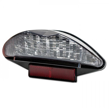 LED-Rücklicht-Superbike3, BMW F/G650/F800/R1200GS getönt, mit KZ-Beleuchtung, E-geprüft