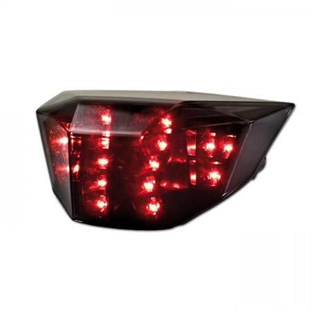 LED Rücklicht KTM 690 Duke R BJ 2010-15 / 690 Duke BJ 2012-18 getönt E-geprüft
