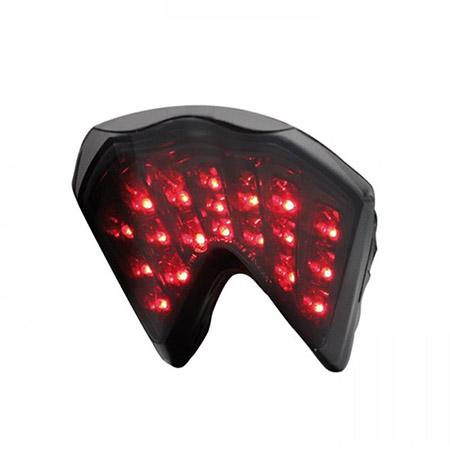 LED Rücklicht KTM 690 Duke BJ 2008-11 / 690 Duke R BJ 2010-12 / 690 SM BJ 2007-09 / 690 SM R BJ 2008-10 / 990 Super Duke R BJ 2009-11 getönt E-geprüft