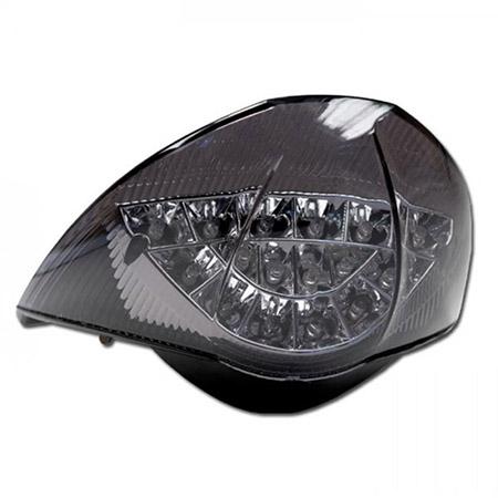 LED Rücklicht KTM 990 Super Duke BJ 2004-11 / 990 Super Duke R BJ 2007-13 getönt E-geprüft