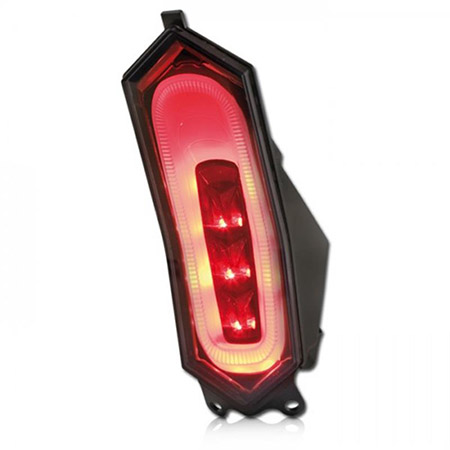 LED Rücklicht Yamaha YZF-R1 1000 RN32 BJ 2015-18 / YZF-R6 BJ 2017-18 getönt E-geprüft