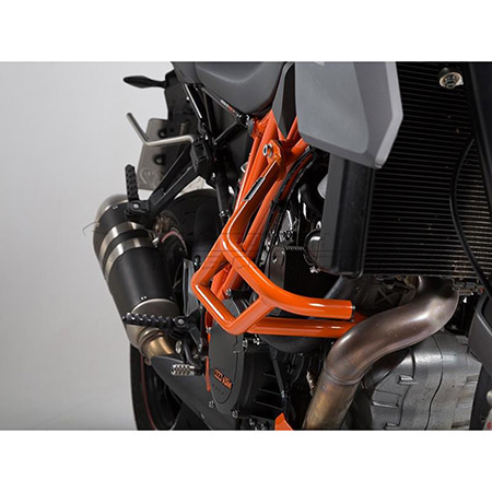 Sturzbügel KTM 1290 Super Duke BJ 2014-18 orange