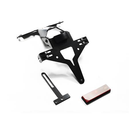 Kennzeichenhalter Kennzeichenträger Universal verstellbar Motorrad Typ3 IBEX
