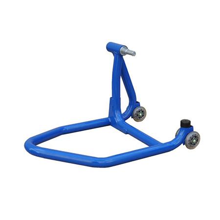 Einarm Montageständer Hinterrad blau inkl. Adapter für Ducati 40,40mm