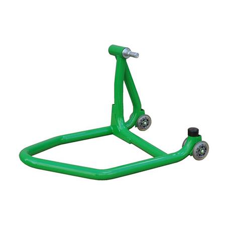 Einarm Montageständer Hinterrad grün inkl. Adapter für Ducati 21,8-25,9mm