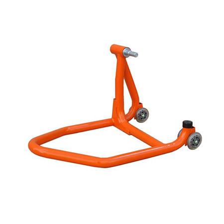 Einarm Montageständer Hinterrad orange inkl. Adapter für Ducati 21,8-25,9mm