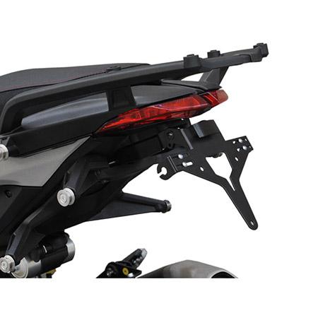Schwarz R/&G Racing Nummernschildhalter Ducati 950 Hypermotard