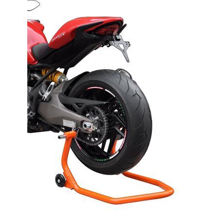 Montageständer Hinterrad für Racingadapter/Bobbins orange