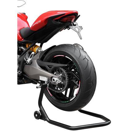Montageständer Hinterrad für Racingadapter/Bobbins schwarz