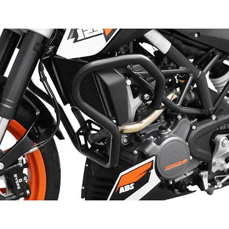 Sturzbügel KTM 125 / 200 Duke BJ 2011-16 schwarz