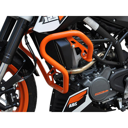 Sturzbügel KTM 125 / 200 Duke BJ 2011-16 orange