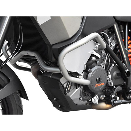 Sturzbügel KTM 1050 Adventure BJ 2015-16 / 1190 Adventure BJ 2013-16 / 1290 Super Adventure BJ 2014-19 silber