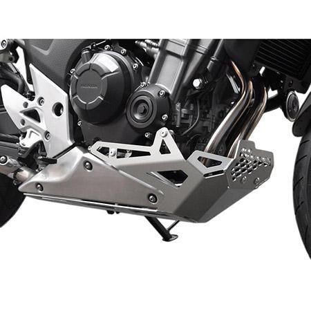 Motorschutz Honda CB 500 X BJ 2013-16 silber