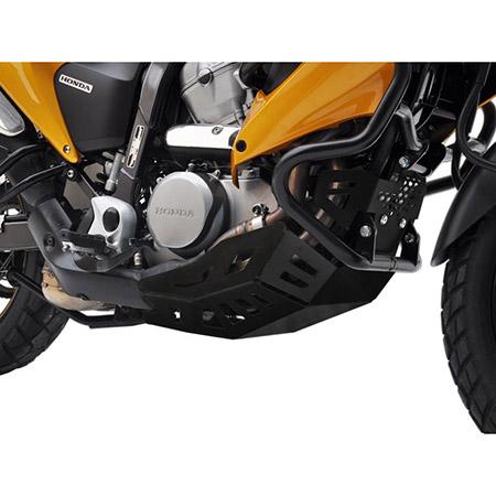 Motorschutz Honda Transalp XL 700 V BJ 2007-13 schwarz