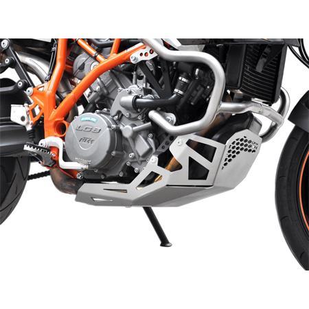 Motorschutz KTM LC8 950 SM / R BH 2005-08 / 990 SM T / R BJ 2009-12 silber