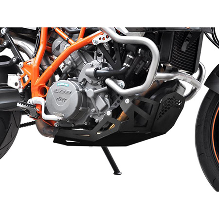 Motorschutz KTM LC8 950 SM / R BJ 2005-08 / 990 SM T / R BJ 2009-12 schwarz