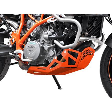 Motorschutz KTM LC8 950 SM / R BH 2005-08 / 990 SM T / R BJ 2009-12 orange