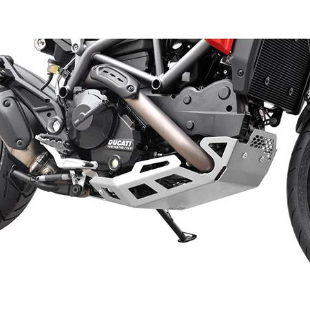 Motorschutz Ducati Hyperstrada / Hypermotard 821 BJ 2013-15 silber