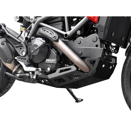 Motorschutz Ducati Hyperstrada / Hypermotard 821 BJ 2013-15 schwarz