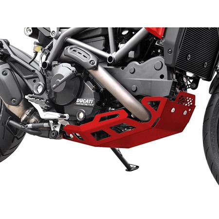 Motorschutz Ducati Hyperstrada / Hypermotard 821 BJ 2013-15 rot
