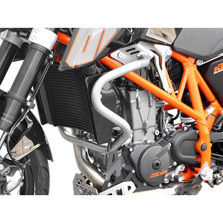 Sturzbügel KTM 690 Duke BJ 2012-18 silber