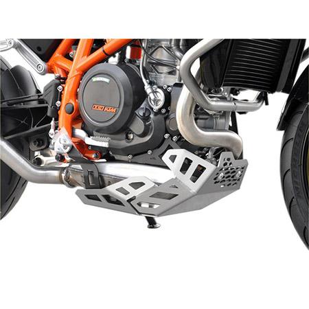 Motorschutz KTM 690 Duke BJ 2012-18 silber