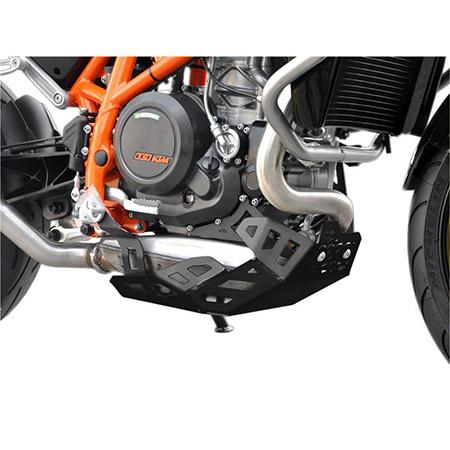 Motorschutz KTM 690 Duke BJ 2012-19 schwarz