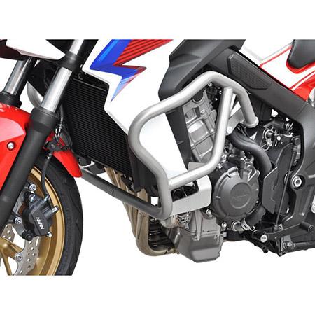 Sturzbügel Honda CB 650 F BJ 2014-18 silber