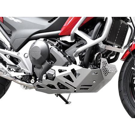 Motorschutz Honda NC 700 / 750 S / X DCT BJ 2012-18 silber