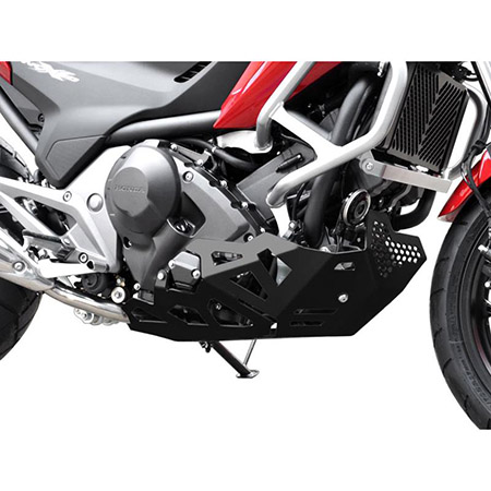 Motorschutz Honda NC 700 / 750 S / X DCT BJ 2012-19 schwarz