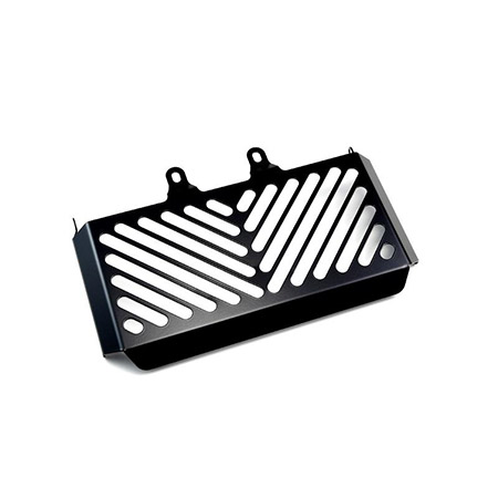 Kühlerabdeckung BMW R nine T 2013-18 Black Clean