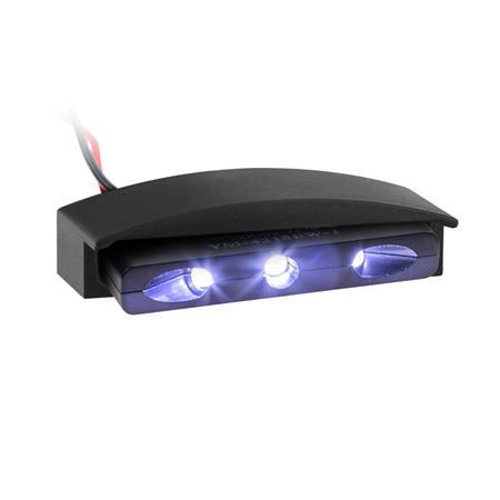 LED-Nummernschildbeleuchtung kleiner gehts nicht mit Gehäuse