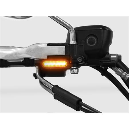 LED Armaturenblinker Harley Davidson Typ 1 silber