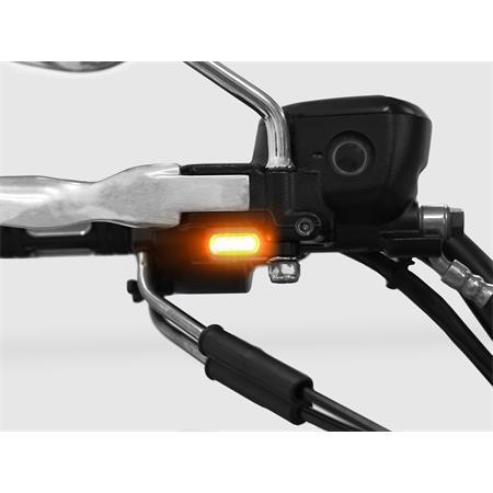 LED Armaturenblinker Harley Davidson Typ 2 silber