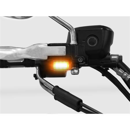 LED Armaturenblinker Harley Davidson Typ 3 silber