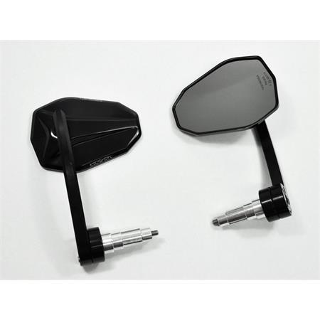 Lenkerendenspiegel VICTORY EVO schwarz E-gepr. Paar