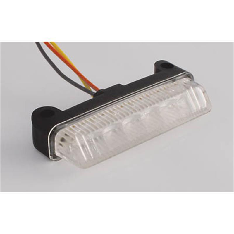 LED Rücklicht-Mini BLADE klares Glas