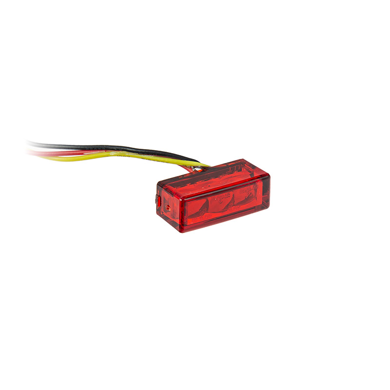 LED-Einbaurücklicht Brick3 rot