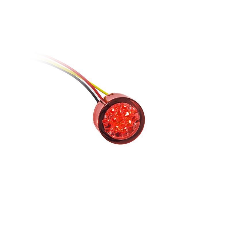 LED-Einbaurücklicht Twenty rot