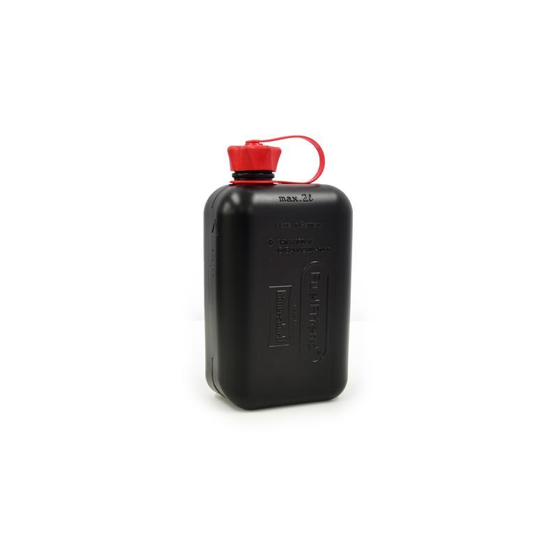 Benzinkanister Fuel Friend 2,0 Ltr. HD-PE Schwarz