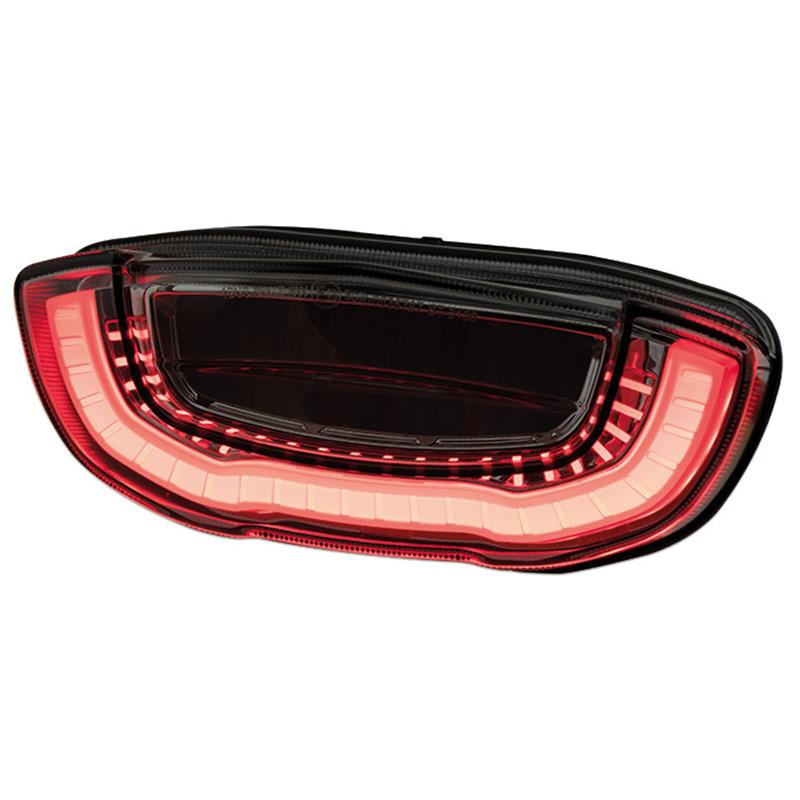LED Rücklicht Honda CB 650 R BJ 2019-21 / CBR 650 R BJ 2019-21 getönt E-geprüft