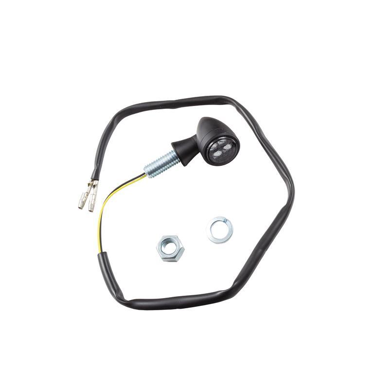 Universal Motorrad LED-Blinker Bullet getönt M8 E-geprüft
