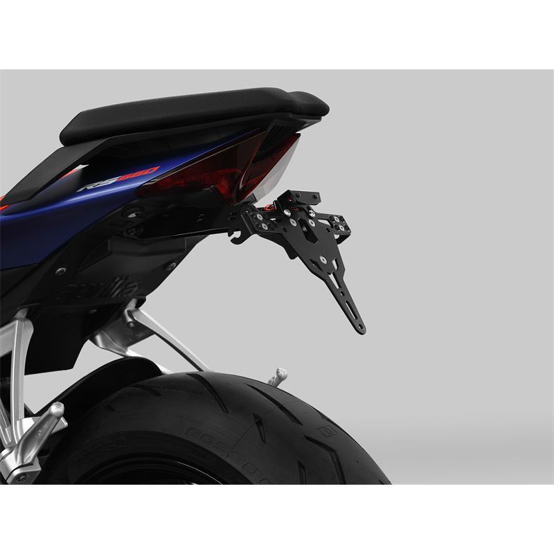 ZIEGER Pro Kennzeichenhalter Aprilia RS 660 BJ 2020-21 / Tuono 660 BJ 2021