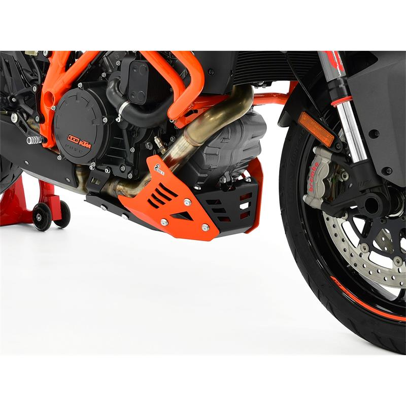 Motorschutz KTM 1290 Super Duke GT BJ 2016-18 schwarz/orange