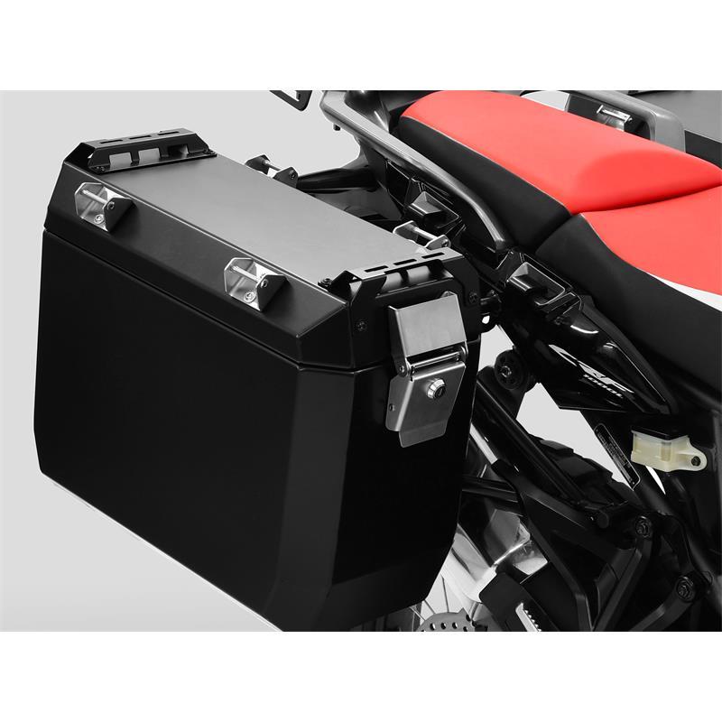 ZIEGER Kofferträgerset Honda CRF 1000 L Africa Twin (SD04) BJ 2016-18 schwarz