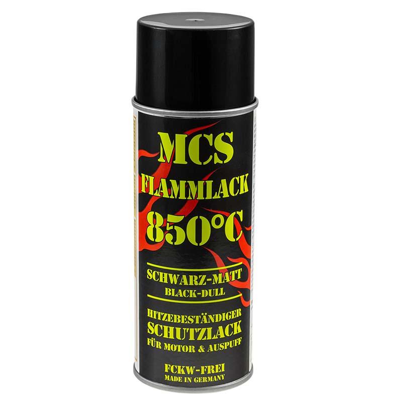 Auspufflack schwarz matt 850°C hitzebeständig Flammlack 400ml 24,87 €/L