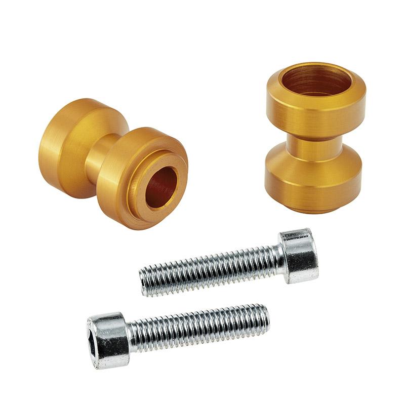 Bobbins / Racingadapter Montageständer M10 gold (mit Distanzhülse)
